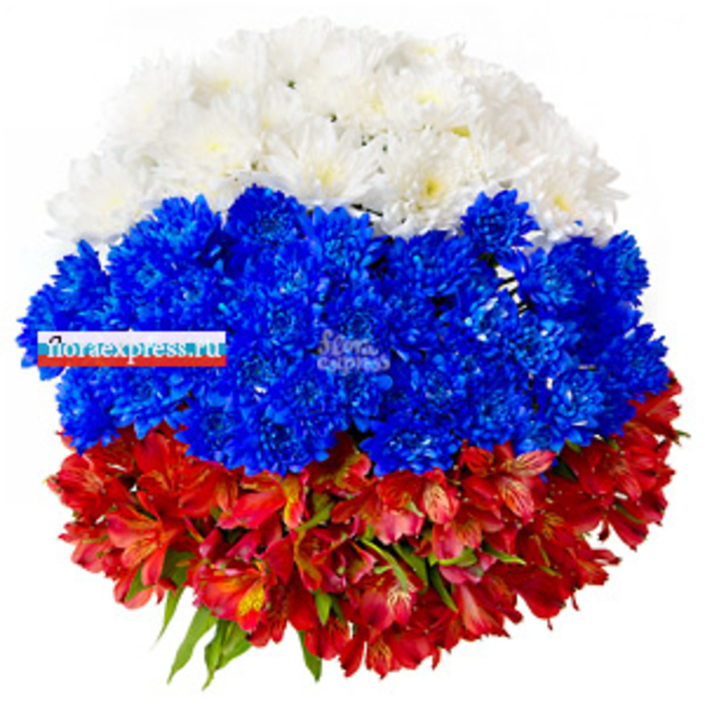 Виват, Россия! от Floraexpress