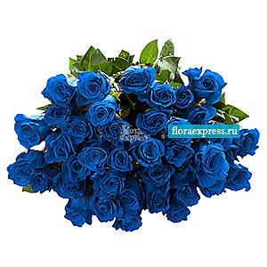 Синие грезы (29 роз)