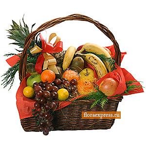 Корзина с фруктами «Подарок феи»