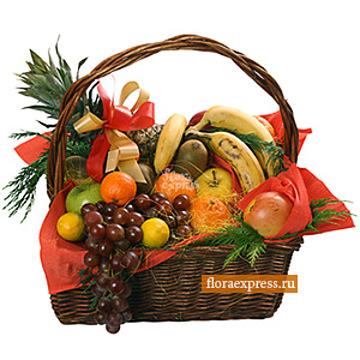 Букет Корзина с фруктами «Подарок феи»