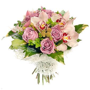 Букет Розовая карамель