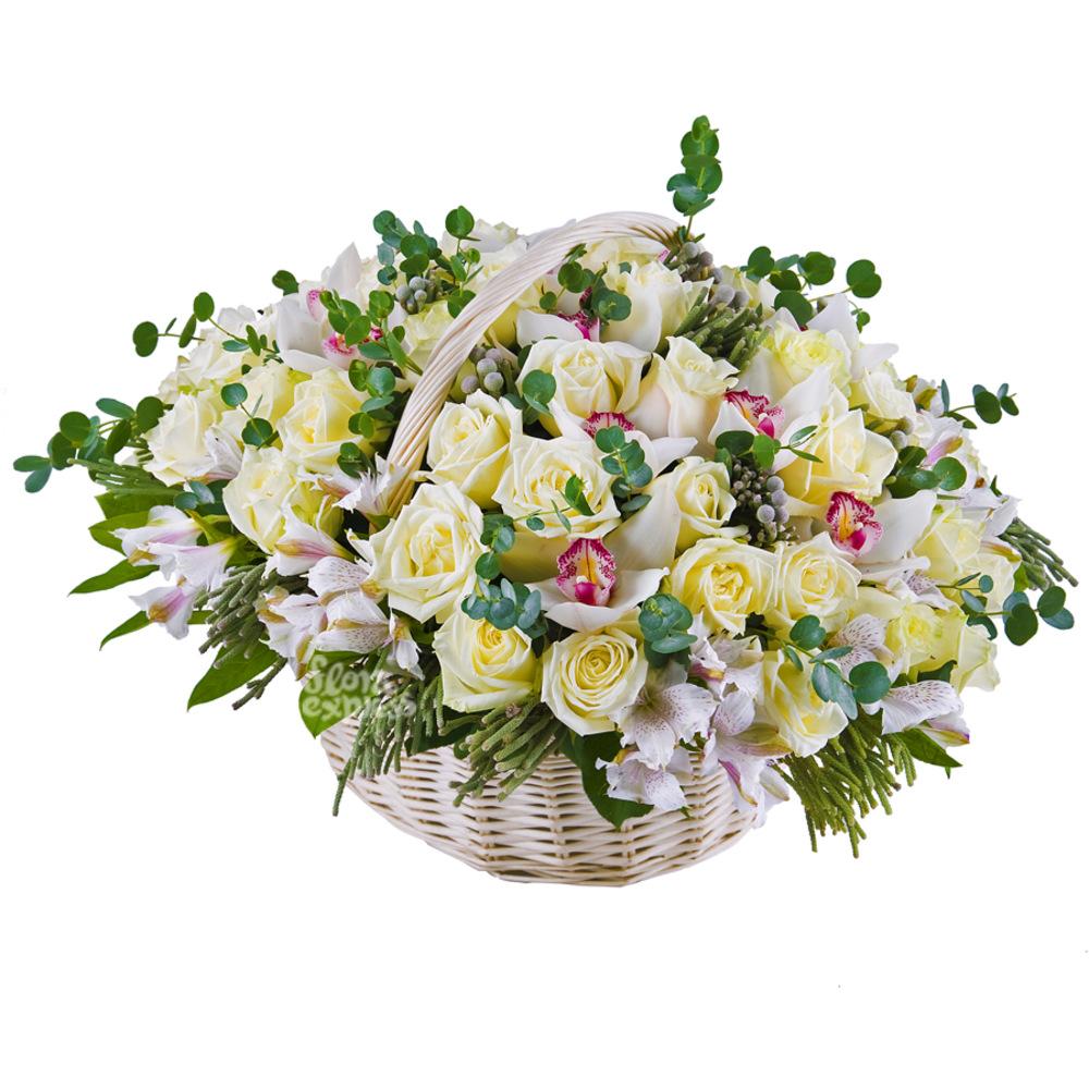 Корзина «Luxury» от Floraexpress