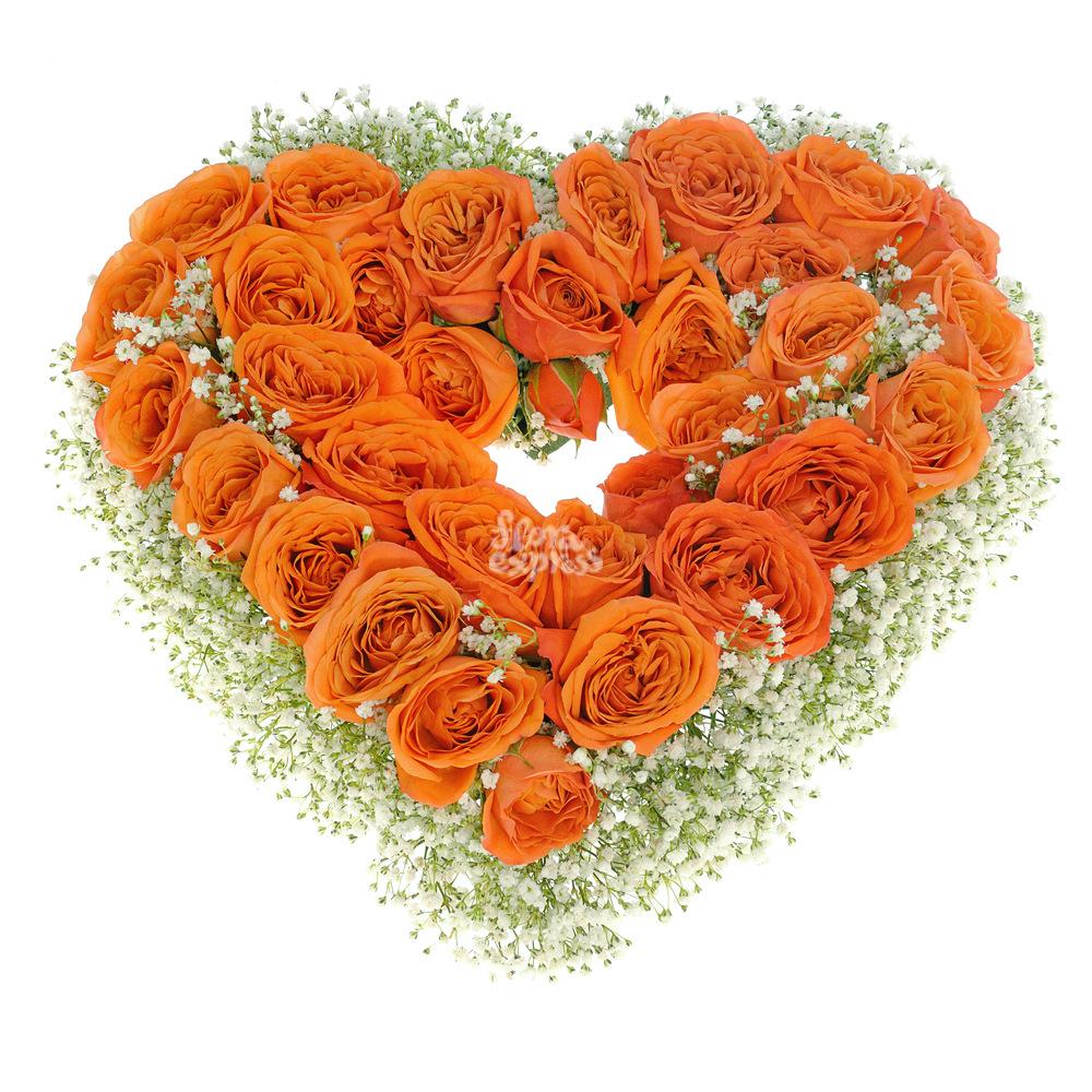 Композиция «Сгорая от любви» от Floraexpress