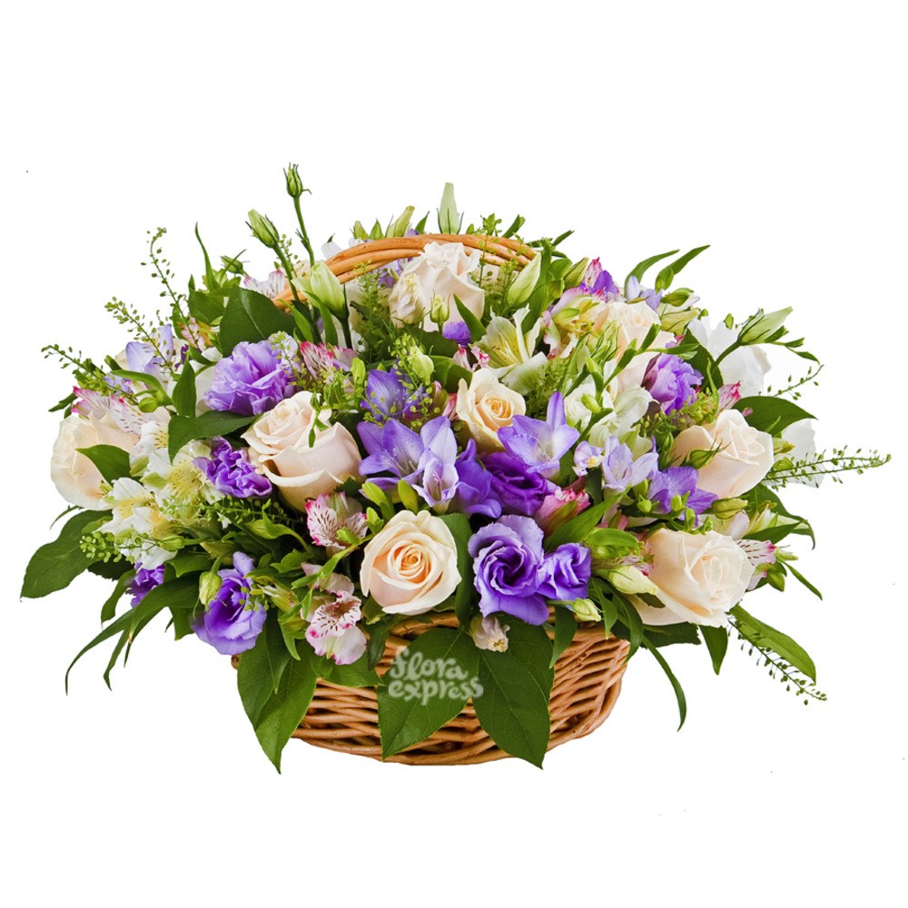 Корзина «Приятный подарок» от Floraexpress