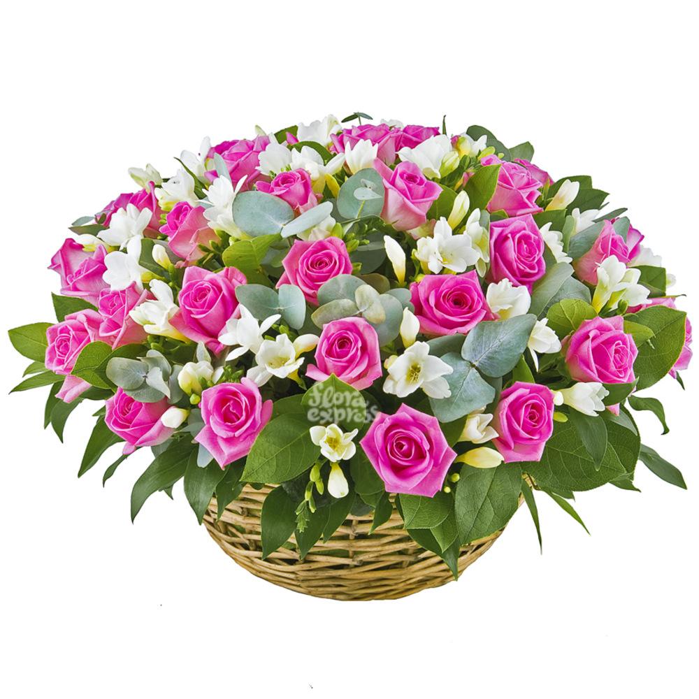 Корзина «Нежность» от Floraexpress