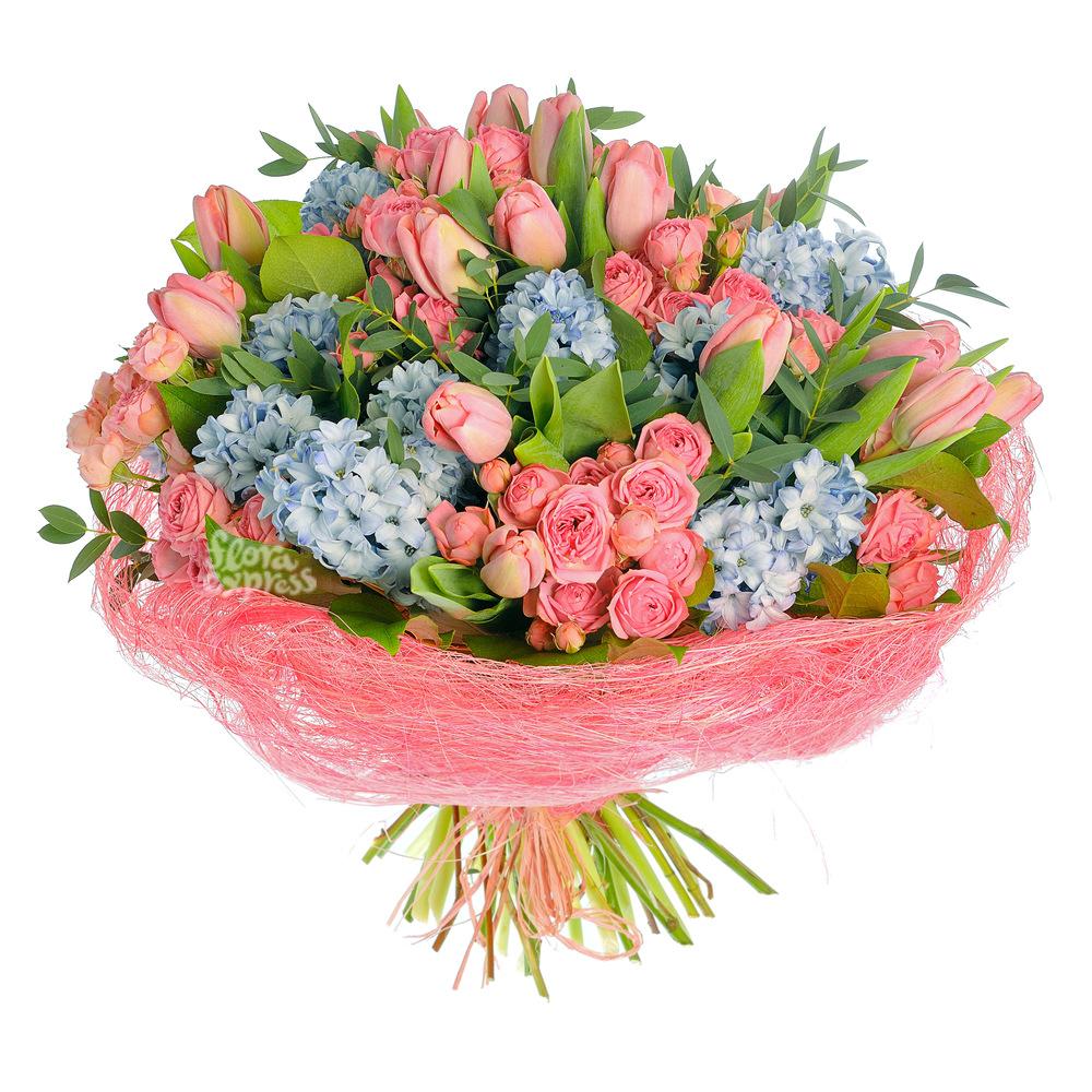 Жизнь в розовом цвете от Floraexpress