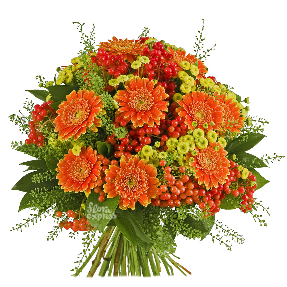 Оранжевый мир от Floraexpress