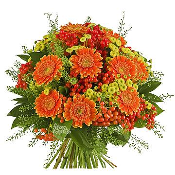 Букет Оранжевый мир