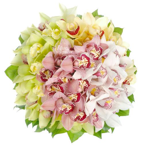 Таинственные орхидеи - изображение букета 2