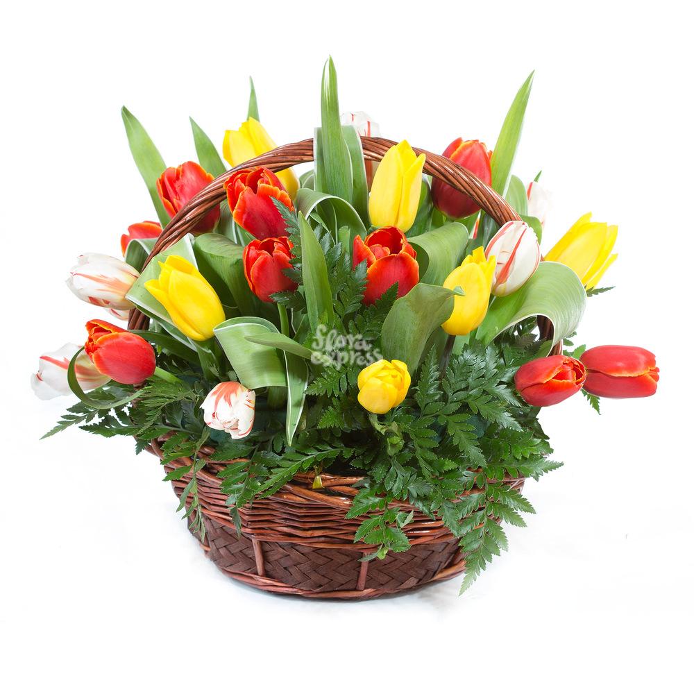 Корзина «Обнимашки» от Floraexpress