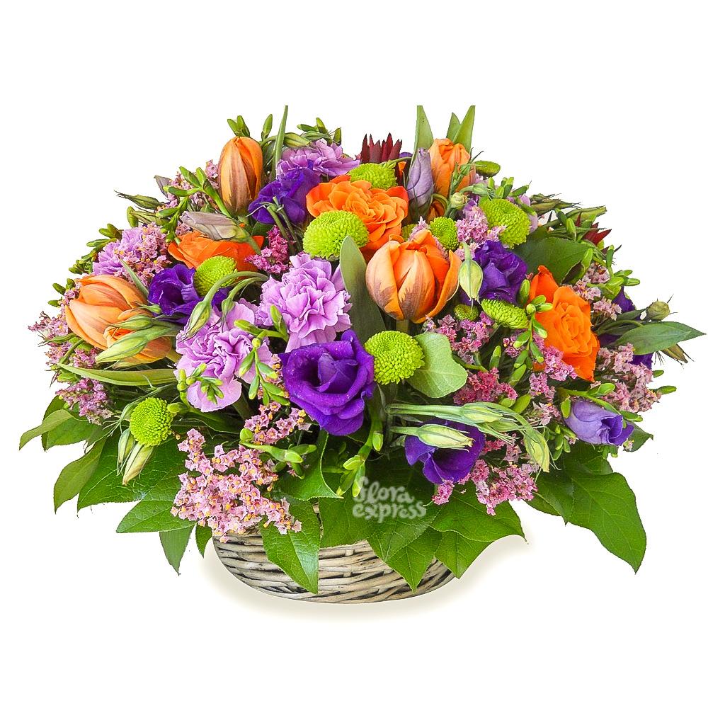 Композиция букета цветов, цветов приморском районе