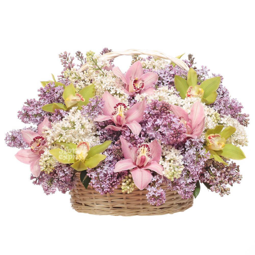 Корзина «Неделя счастья» от Floraexpress