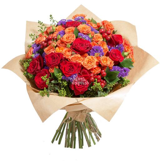 Доставка цветов по Москве недорого: бесплатная