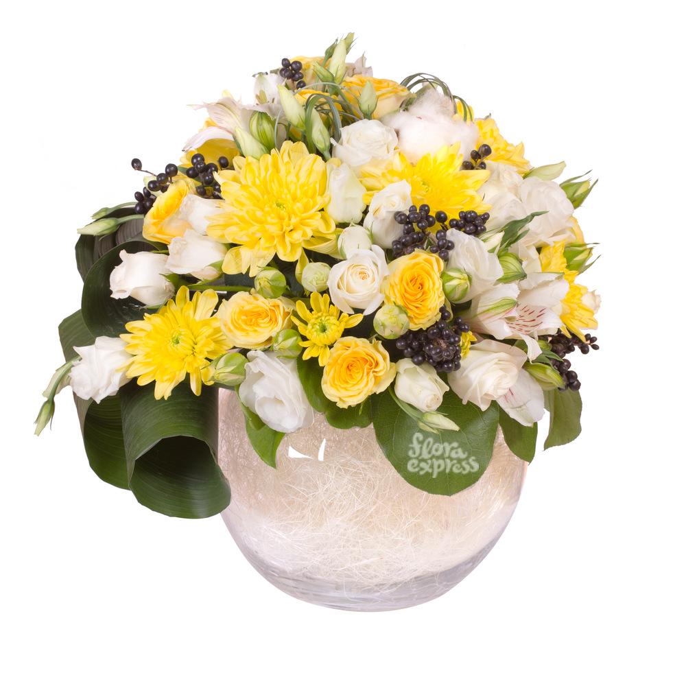 Композиция «Спасибо, что ты есть» от Floraexpress