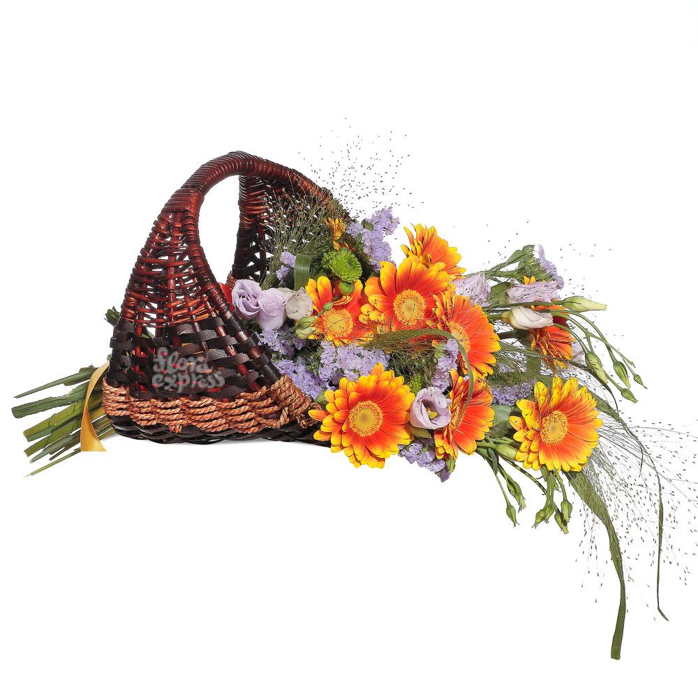 Корзина «От всей души» от Floraexpress