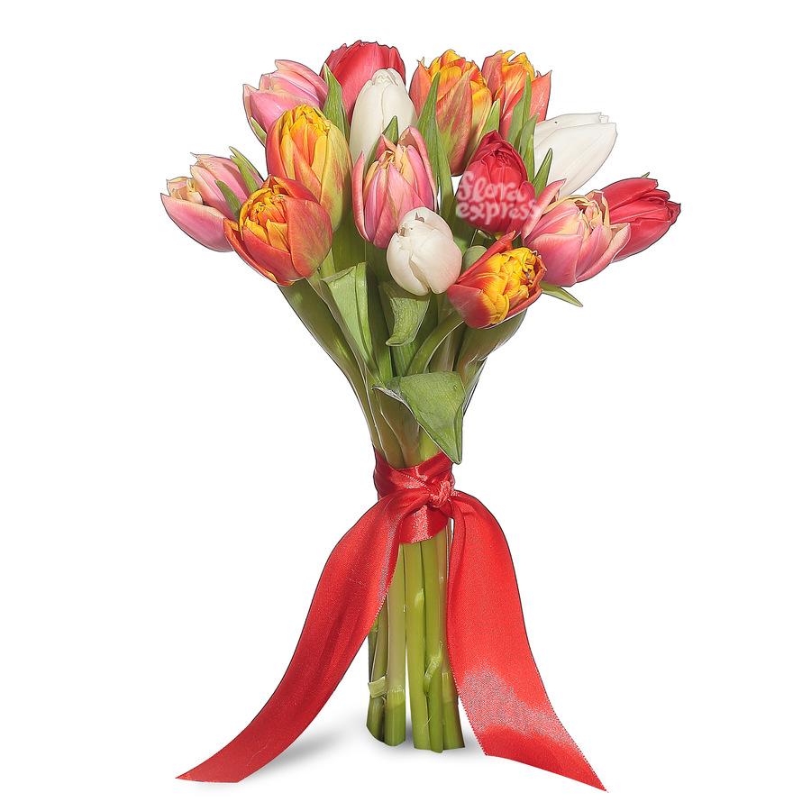 крупные цветы в букете цветов фото