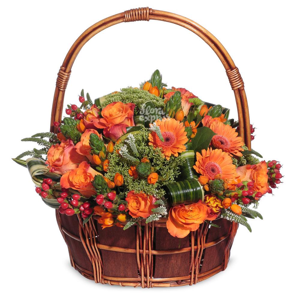 Корзина «Радость» от Floraexpress