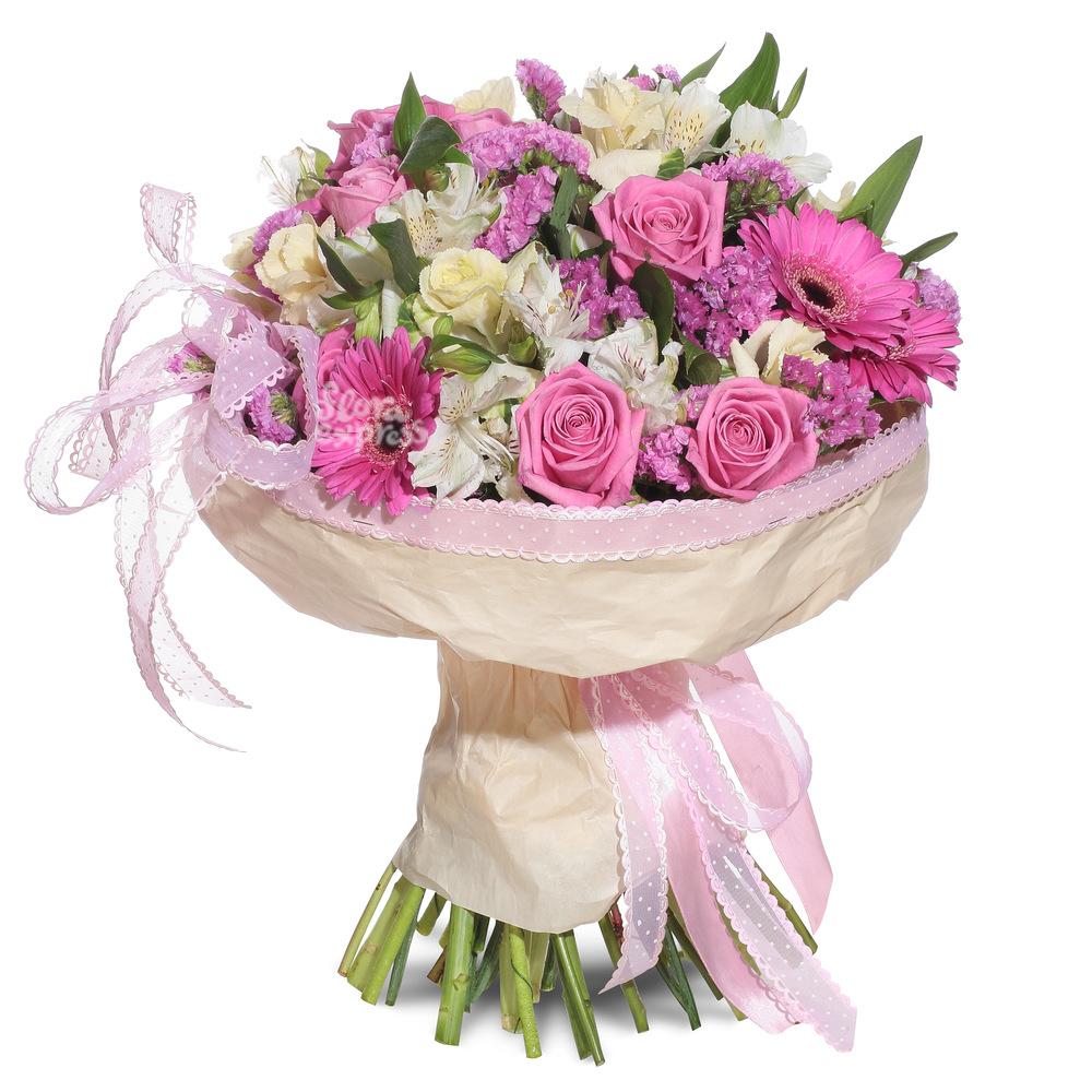 Розовая дымка от Floraexpress