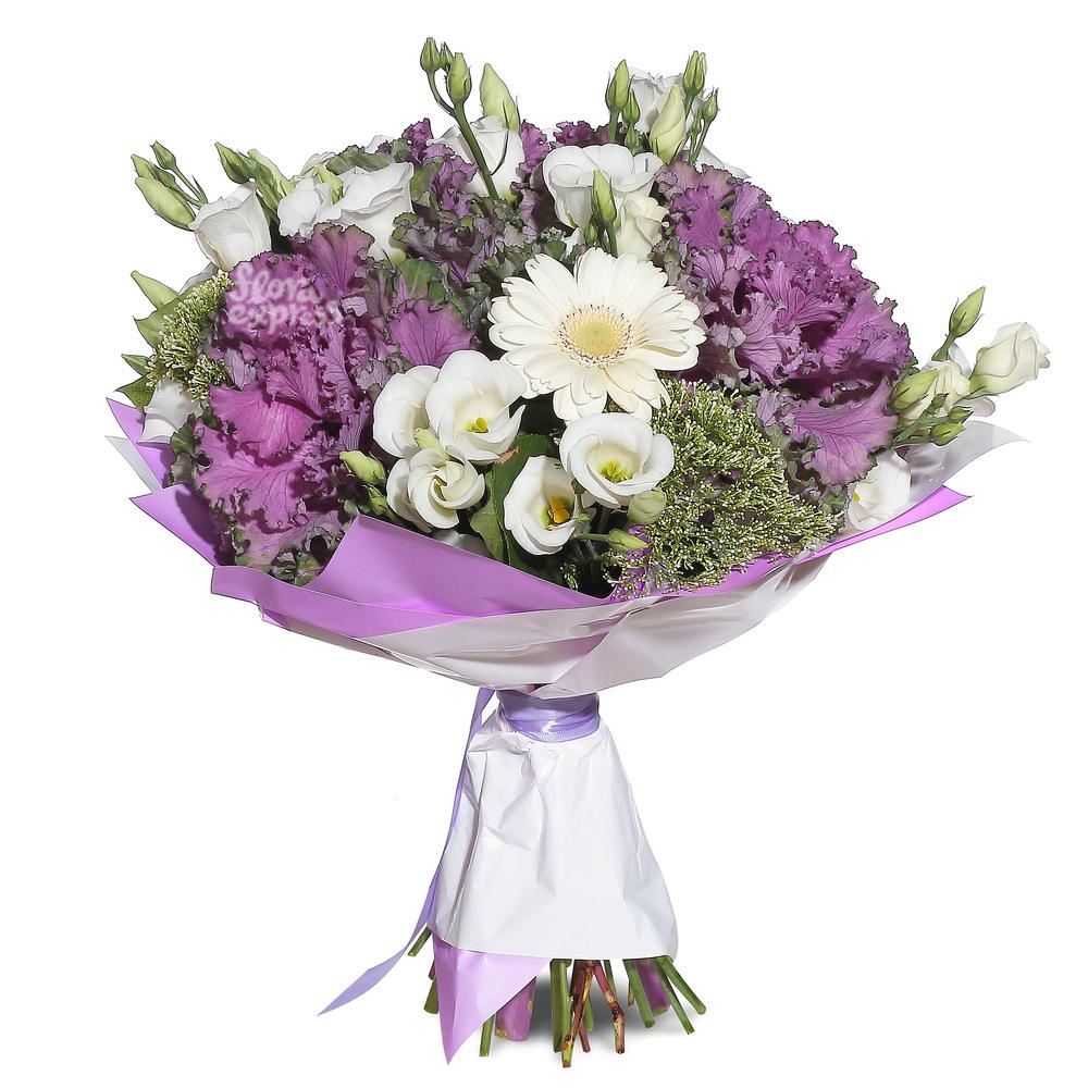Фиолетовое настроение от Floraexpress