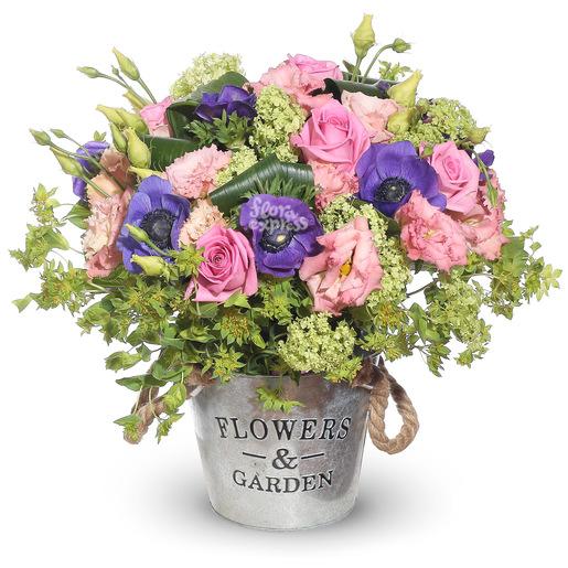 Корзина цветы прованса