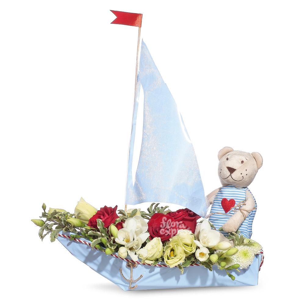 Кораблик от Floraexpress