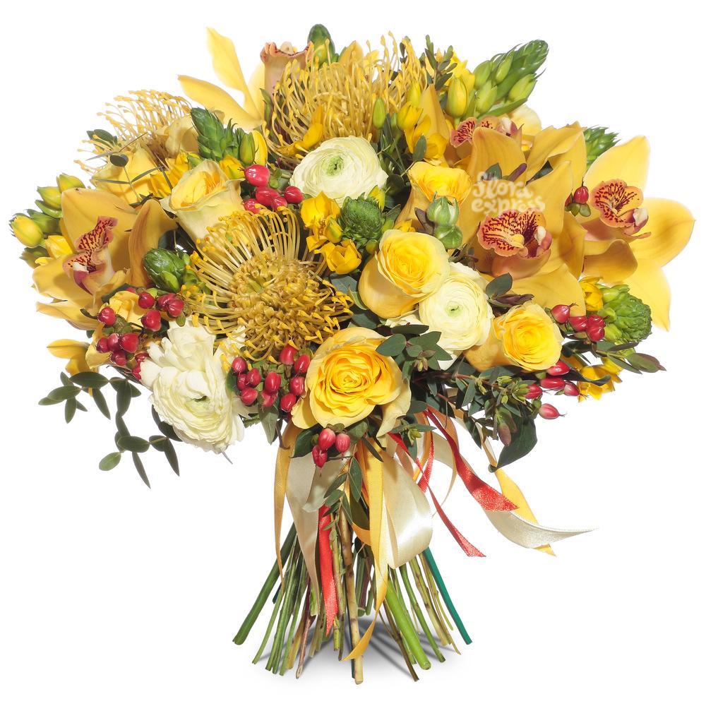 Солнечный привет от Floraexpress
