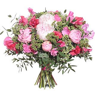 Букет Розовый сюрприз