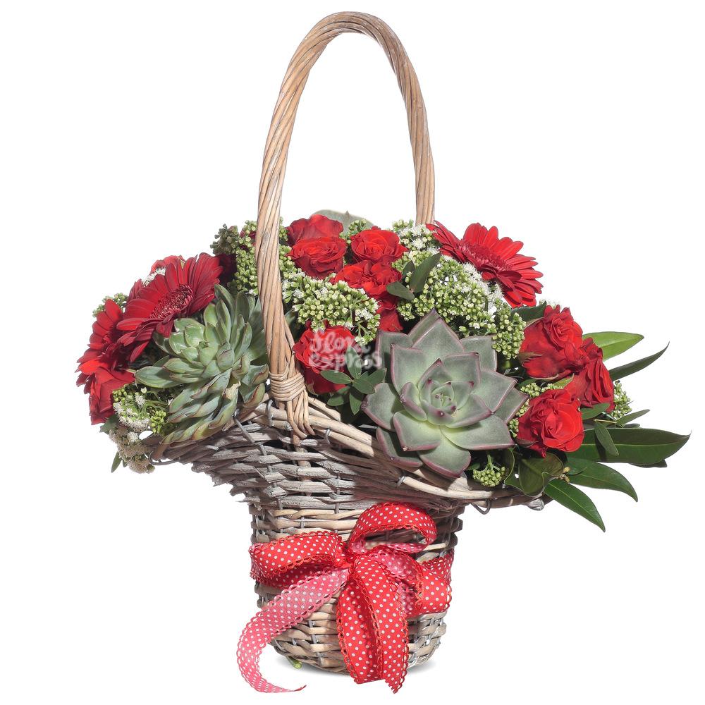 Корзина «Кармен» от Floraexpress