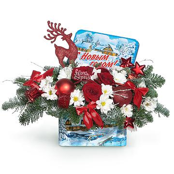 Букет Композиция «Новый год»