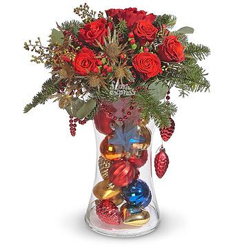 Букет Композиция «Новогодняя радость»