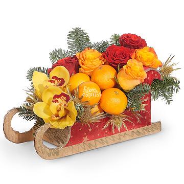 Букет Композиция «Новогодний аромат»