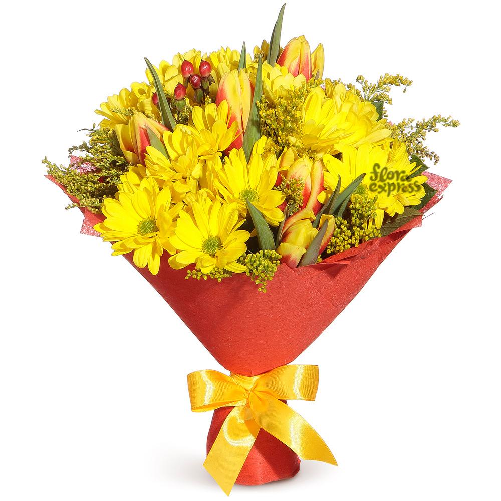 Золотое сердце от Floraexpress