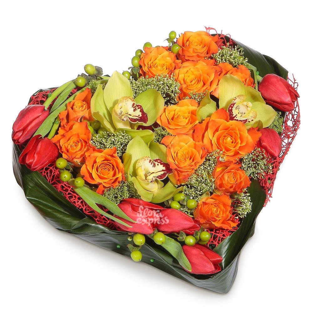 Ты - моя любовь! от Floraexpress