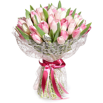 Букет Вау, мои любимые тюльпаны!