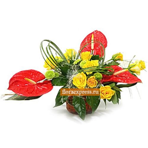 Доставка цветов анютины глазки москва купить медаль 90 лет московскому уголовному розыску