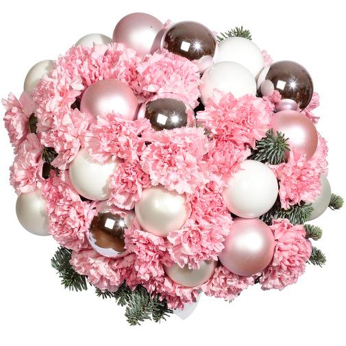 Розовое облако - изображение букета 2