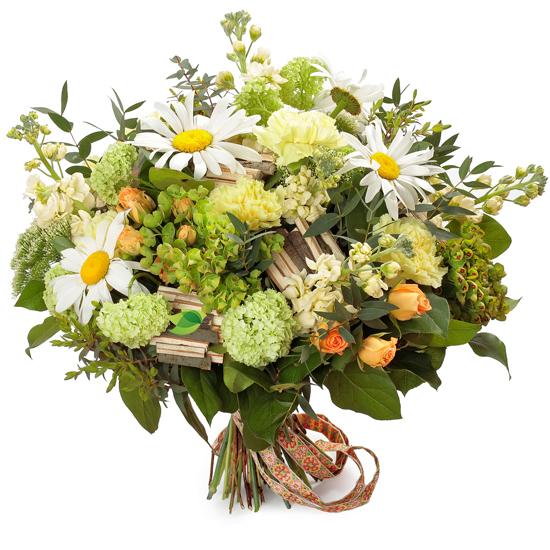 Букеты с лесными цветами