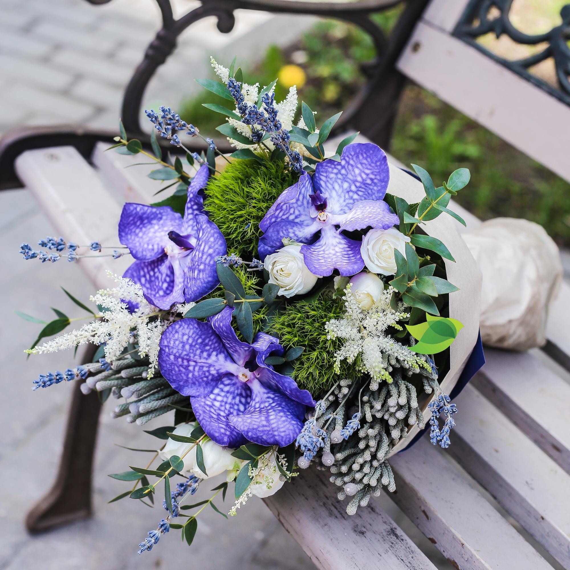 Фото букета: Орхидея Ванда